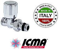 Прямой вентиль 1/2 ICMA 935 хром