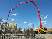 Услуги автобетононасоса 52 метра