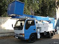 Услуги телескопической автовышки 16 м