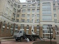 Услуги автовышки на базе «КАМАЗ» 33 м