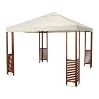 Павильон ЭПЛАРО коричневый, белый бежевый ИКЕА, IKEA , фото 1