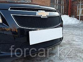 Защита радиатора Chevrolet Cruze 2009-2013 black низ
