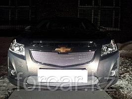 Защита радиатора Chevrolet Cruze 2013- chrome низ