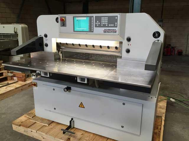 Бумагорезательная машина Schneider Senator E-line 92 б/у 2010г