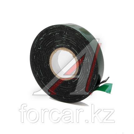 Скотч двухсторонний 12мм х 5м зелёный Dollex, фото 2