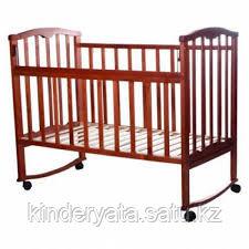 Детская кроватка Агат Золушка-1 (колесо/качалка)