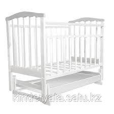 Детская кроватка Золушка 4 с маятником
