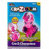 Набор для творчества - фигурка Пони и цветные резиночки CRA-Z-LOOM, фото 1