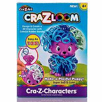 Crazy Loom Набор для творчества - фигурка Щенок+ цветные резиночки