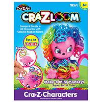 Crazy Loom Набор для творчества - фигурка Обезьянка+ цветные резиночки , фото 1