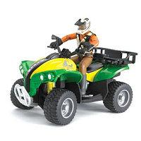 Bruder Игрушечный Квадроцикл с гонщиком (Брудер)