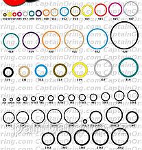 О-ринги/прокладки резиновые BN70 019