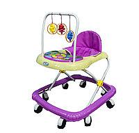 Детские ходунки Jungle Friend для самых маленьких, 55*50*73 см, фиолетовые