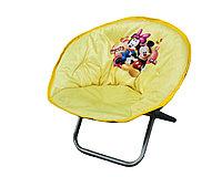 Кресло мягкое раскладное Микки Маус, желтое, 50*46 см
