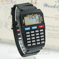 Часы электронные наручные  с калькулятором KENKO KK-628