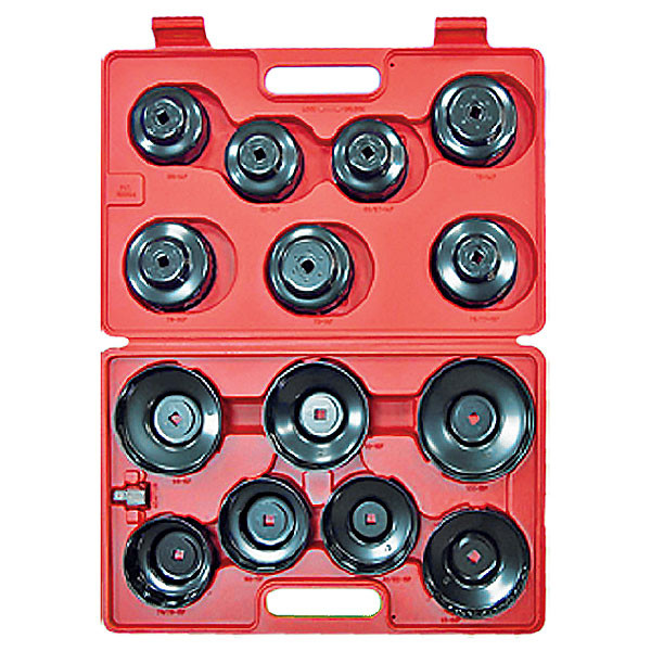 Набор съёмников масляных фильтров 15 предметов МАСТАК 103-40015C