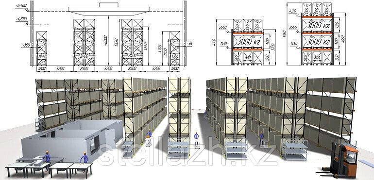 Проект дизайн склада