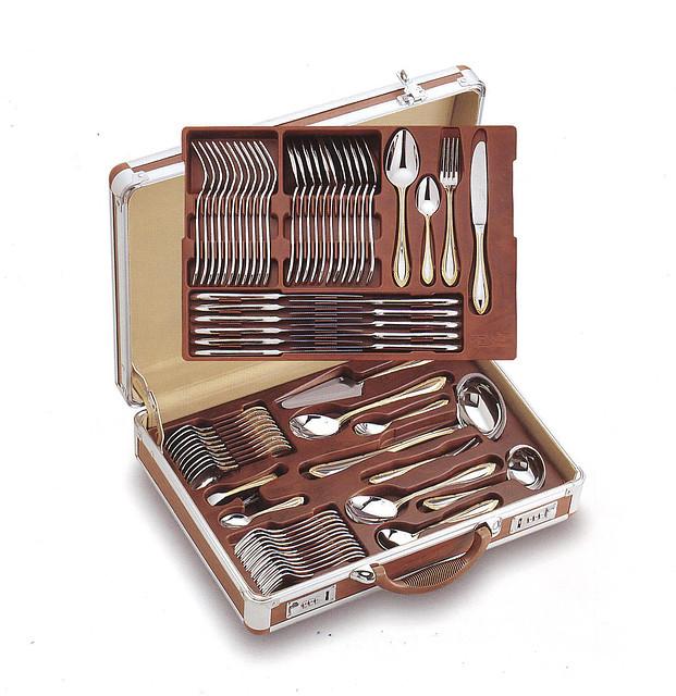 Цептер алюминиевый чемодан для столовых приборов