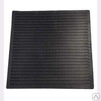 Диэлектрические коврики (резиновые) 500х500, 750х750  мм