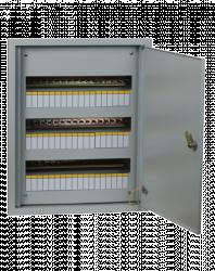Щит распределительный встраиваемый ЩРВ-36 IP31 (520х340х120) EKF