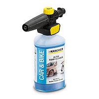 Пенное сопло FJ 10 + средство для мытья автомобилей 1л