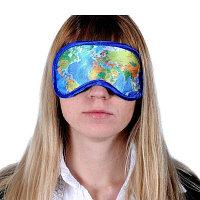 Маска для сна Карта мира