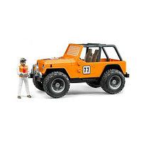 Bruder Игрушечный Гоночный Внедорожник Cross Country Racer оранжевый (Брудер)