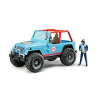 Bruder Игрушечный Гоночный Внедорожник Cross Country Racer синий (Брудер)