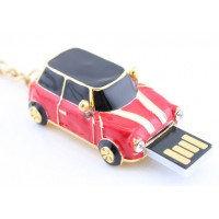Флешка мини купер 8 Gb