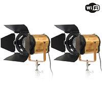 Falcon Eyes CLL-1600TW+RC-W01 Прожектор с линзой френеля с wifi диммером, фото 1