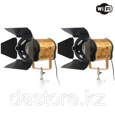 Falcon Eyes CLL-1600TW+RC-W01 Прожектор с линзой френеля с wifi диммером, фото 2