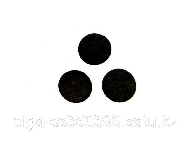 Фетровые кружки. Черные. 2 см. Creativ 1058