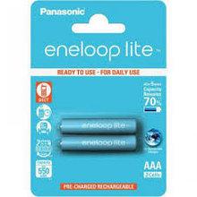 Panasonic BK-4LCCE/2BE eneloop Lite аккумуляторная батарея AAA 550 mAh (2 ед/упак)