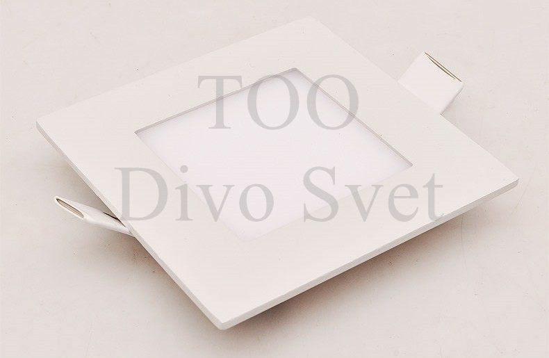 Светодиодные панели (квадратные) ультратонкие споты   9 w ( оригинал)  5000 K и 2700 К свечение.