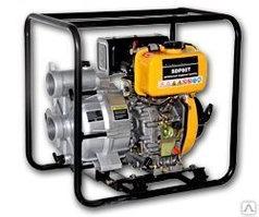 Мотопомпа  FIRMAN SGP100H для перекачки слабозагрязненной воды