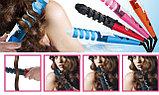 Спиральная плойка для завивки волос.Professional Hair Curler, фото 4