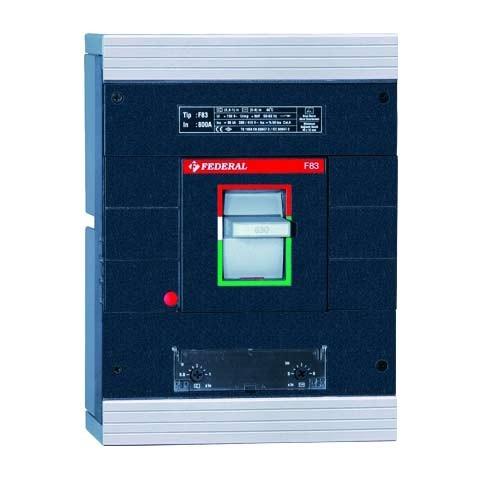Автоматические выключатели в литом корпусе (3P 400A 50KA)Federal (Турция)