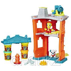 """HASBRO Игровой набор Play-Doh Город """"Пожарная станция"""""""