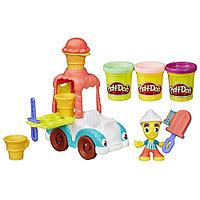 """HASBRO Город Игровой набор Play-Doh """"Грузовичок с мороженым"""", фото 1"""