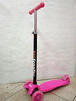 Трехколесный самокат от 4х лет (розовый)
