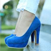 Туфли на высоком каблуке классические