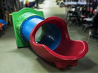 Скат-тоннель, прямой, для игровых комплексов (средней длины)