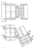 Узел крепления У-71 (Л57-97.06.01) 23,7 кг