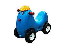 "Детская машинка-каталка (толокар), ""Собачка голубая"""
