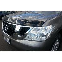 Мухобойка (дефлектор капота) Nissan Patrol (Y62) 2010+