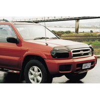 Защита фар Nissan Pathfinder (R50) 1999-2004 рестайлинг тёмная