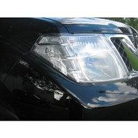Защита фар Nissan Pathfinder (R51) 2010-2013 рестайлинг прозрачная