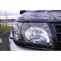 Защита фар Nissan Patrol (Y61) 2002-2004.карбон
