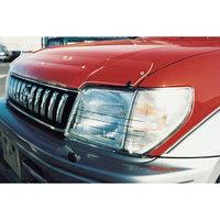 Защита фар Toyota Land Cruiser Prado 95 1996-2002 прозрачная