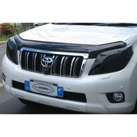 Защита фар Toyota Land Cruiser Prado 150 2009-2013 тёмная